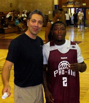 Coach JC and NBA's Nate Robinson